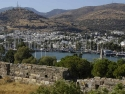 Panorama view on Bodrum from the famous Bodrum Castle