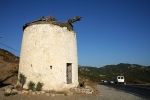 An old windmill at the road to Yalikavak