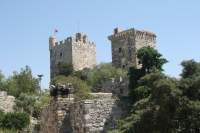 Towers of the St. Peters Castle, Bodrum