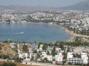 Panorama view on Gumbet, Bodrum