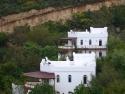 White house in the hills of Yalikavak, Bodrum, Turkey
