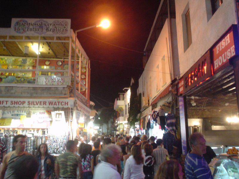 Bodrum Town Popular Tourist Travel Destination In Turkey