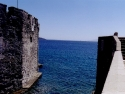 Sea view from St Peters castle Bodrum