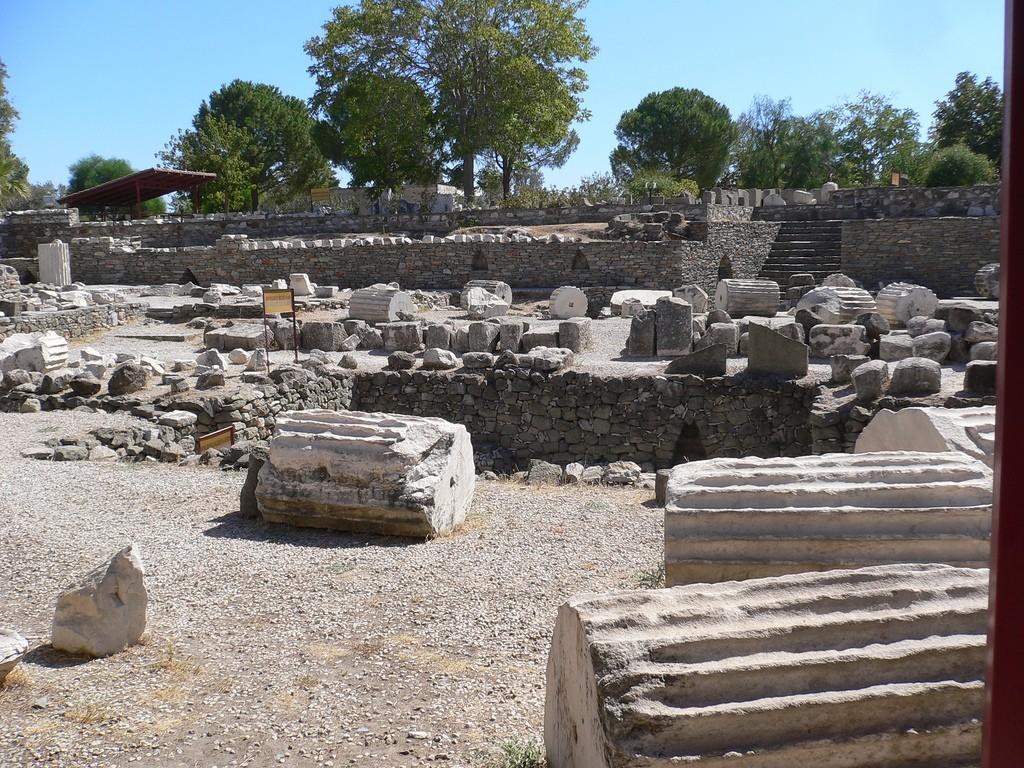 Mausoleum Of Halicarnassus Bodrum Turkey Travel